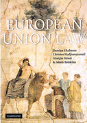 Cover of European Union Law: Text and Materials