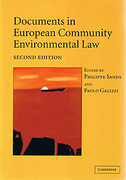 Cover of Documents in European Community Environmental Law