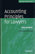 Cover of Accounting Principles for Lawyers