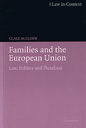Cover of Families and the European Union: Law, Politics and Pluralism