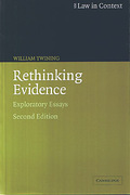 Cover of Law in Context: Rethinking Evidence, Exploratory Essays