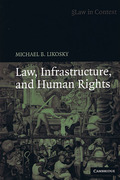 Cover of Law in Context: Law, Infrastructure and Human Rights