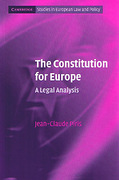 Cover of The Constitution for Europe: A Legal Analysis