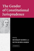Cover of The Gender of Constitutional Jurisprudence