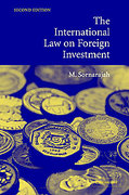 Cover of The International Law on Foreign Investment