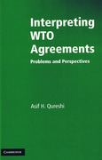 Cover of Interpreting WTO Agreements