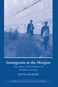 Cover of Immigrants at the Margins: Law, Race, and Exclusion in Southern Europe