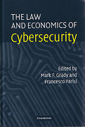 Cover of The Law and Economics of Cybersecurity