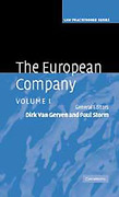 Cover of The European Company: Volume 1