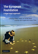 Cover of The European Foundation: A New Legal Approach