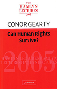 Cover of The Hamlyn Lectures 2005: Can Human Rights Survive?