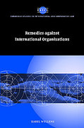 Cover of Remedies Against International Organisations