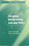 Cover of European Broadcasting Law and Policy