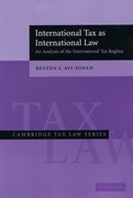 Cover of International Tax as International Law: An Analysis of the International Tax Regime
