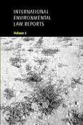 Cover of International Environmental Law Reports: Vol 5 International Tribunals