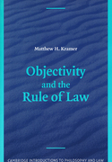 Cover of Objectivity and the Rule of Law