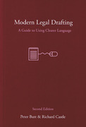 Cover of Modern Legal Drafting: A Guide to Using Clearer Language