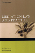 Cover of Mediation Law and Practice