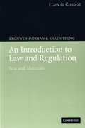 Cover of An Introduction to Law and Regulation: Text and Materials