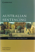 Cover of Australian Sentencing: Principles and Practice