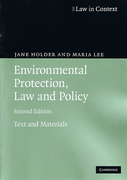 Cover of Law in Context: Environmental Protection, Law and Policy: Text and Materials