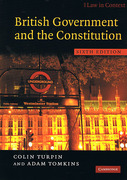 Cover of Law in Context:  British Government and the Constitution: Text and Materials