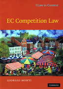 Cover of Law in Context: EC Competition Law