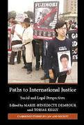 Cover of Paths to International Justice: Social and Legal Perspectives