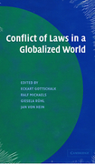 Cover of Conflict of Laws in a Globalized World