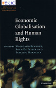 Cover of Economic Globalisation and Human Rights