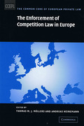 Cover of The Enforcement of Competition Law in Europe
