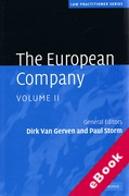 Cover of The European Company: Volume II (eBook)