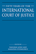 Cover of Fifty Years of the International Court of Justice: Essays in Honour of Sir Robert Jennings