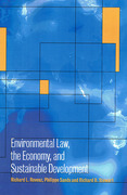 Cover of Environmental Law, the Economy and Sustainable Development: The United States, the European Union and the International Community