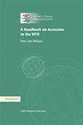 Cover of A Handbook on Accession to the WTO