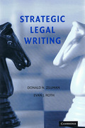 Cover of Strategic Legal Writing