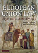 Cover of European Union Law: Text and Materials with 2008 Updating Supplement