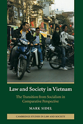 Cover of Law and Society in Vietnam: The Transition from Socialism in Comparative Perspective