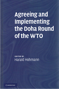 Cover of Agreeing and Implementing the Doha Round of the WTO