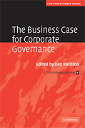 Cover of Business Case for Corporate Governance