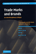 Cover of Trade Marks and Brands: An Interdisciplinary Critique