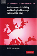 Cover of Environmental Liability and Ecological Damage In European Law