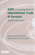 Cover of GATS and the Regulation of International Trade in Services