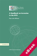 Cover of A Handbook on Accession to the WTO (eBook)