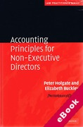 Cover of Accounting Principles for Non-Executive Directors (eBook)