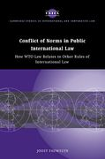 Cover of Conflict of Norms in Public International Law: How WTO Law Relates to other Rules of International Law