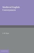 Cover of Medieval English Conveyances