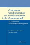 Cover of Comparative Constitutionalism and Good Governance in the Commonwealth
