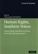 Cover of Law in Context: Human Rights, Southern Voices: Francis Deng, Abdullahi An-Na'im, Yash Ghai and Upendra Baxi
