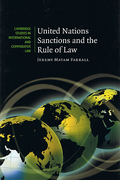 Cover of United Nations Sanctions and the Rule of Law